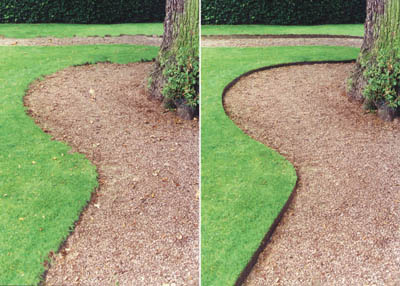 how to properly edge your lawn shank s lawn blog