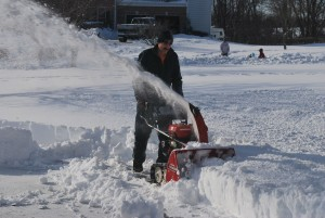 getting your snowblower reader