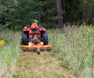 Woods Batwing Mower